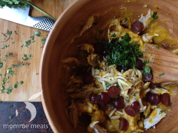 Pumpkin Curry Chicken Salad