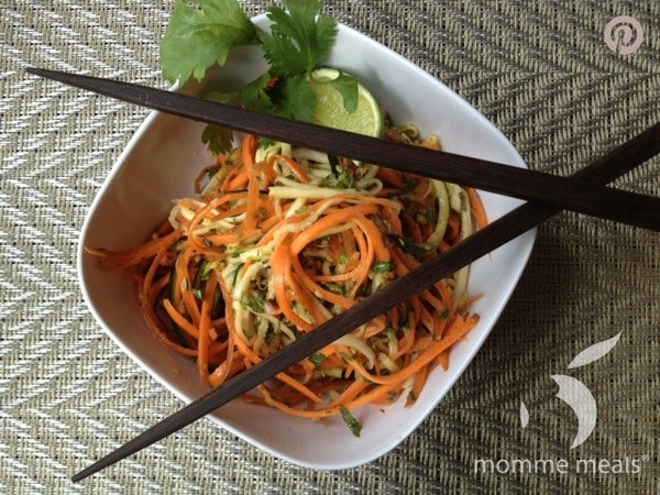 Raw Thai Veggie Salad