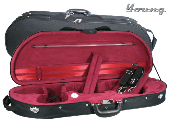 D Shaped Violin Case by Young