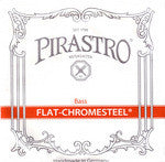 Flat Chromesteel Double Bass Strings