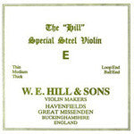 Hill Violin E - Violin Strings