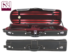 Oblong Violin Case With Curved End