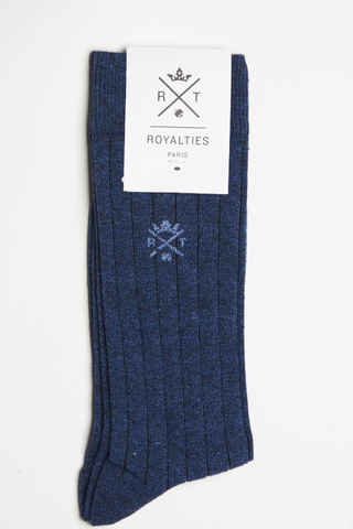 Royalties Mickey Socks Indigo