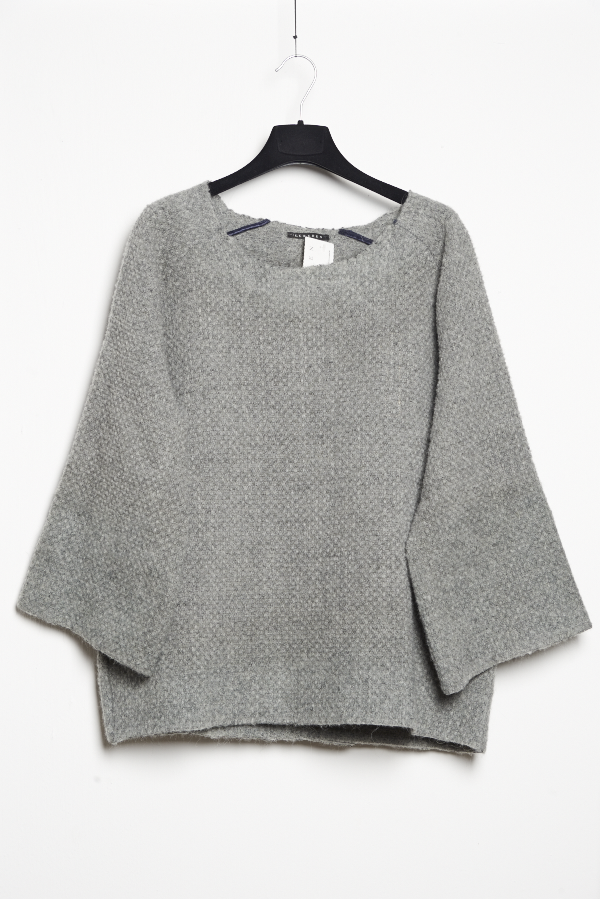 C.Cruden Felted Sweater Grey