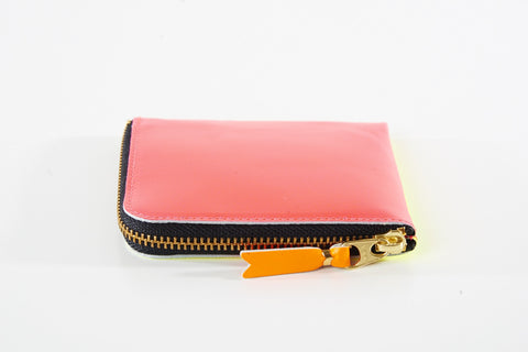 Comme des Garcons Super Fluo-Pink/Yellow Wallet