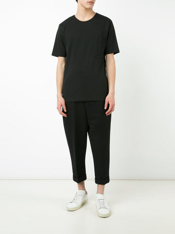 Lemaire Pocket Tee-Shirt Black