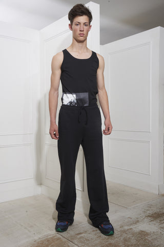 Raf Simons Long Jogging Pants Black
