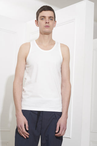 Lemaire Tank Top Chalk