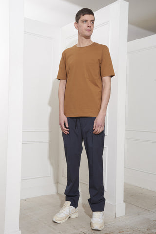 Lemaire Pocket Tee-Shirt Tobacco