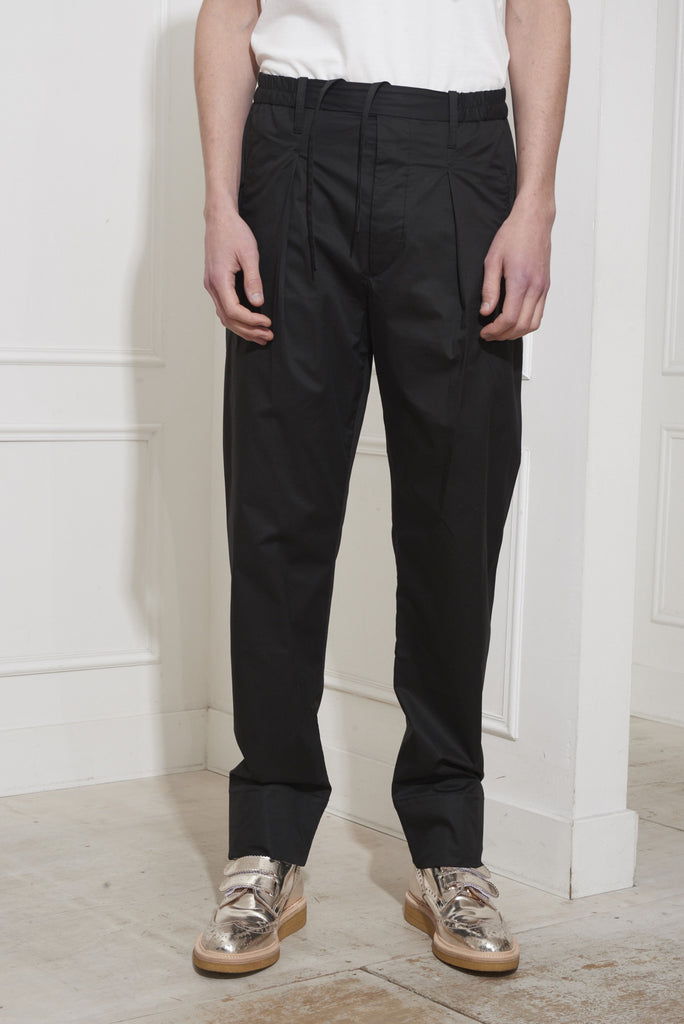 Lemaire Elasticated Pants Black