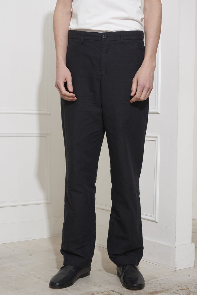 Our Legacy Chino 22 Washed Black Linen