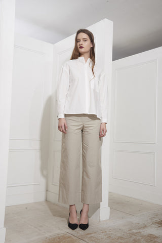 Rue Blanche Concombre Shirt Ivory