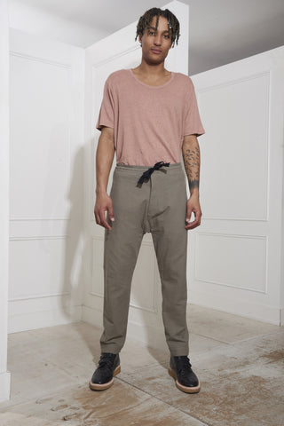 Jan Jan Van Essche Trousers #25 Driftwood Boiled Shirting