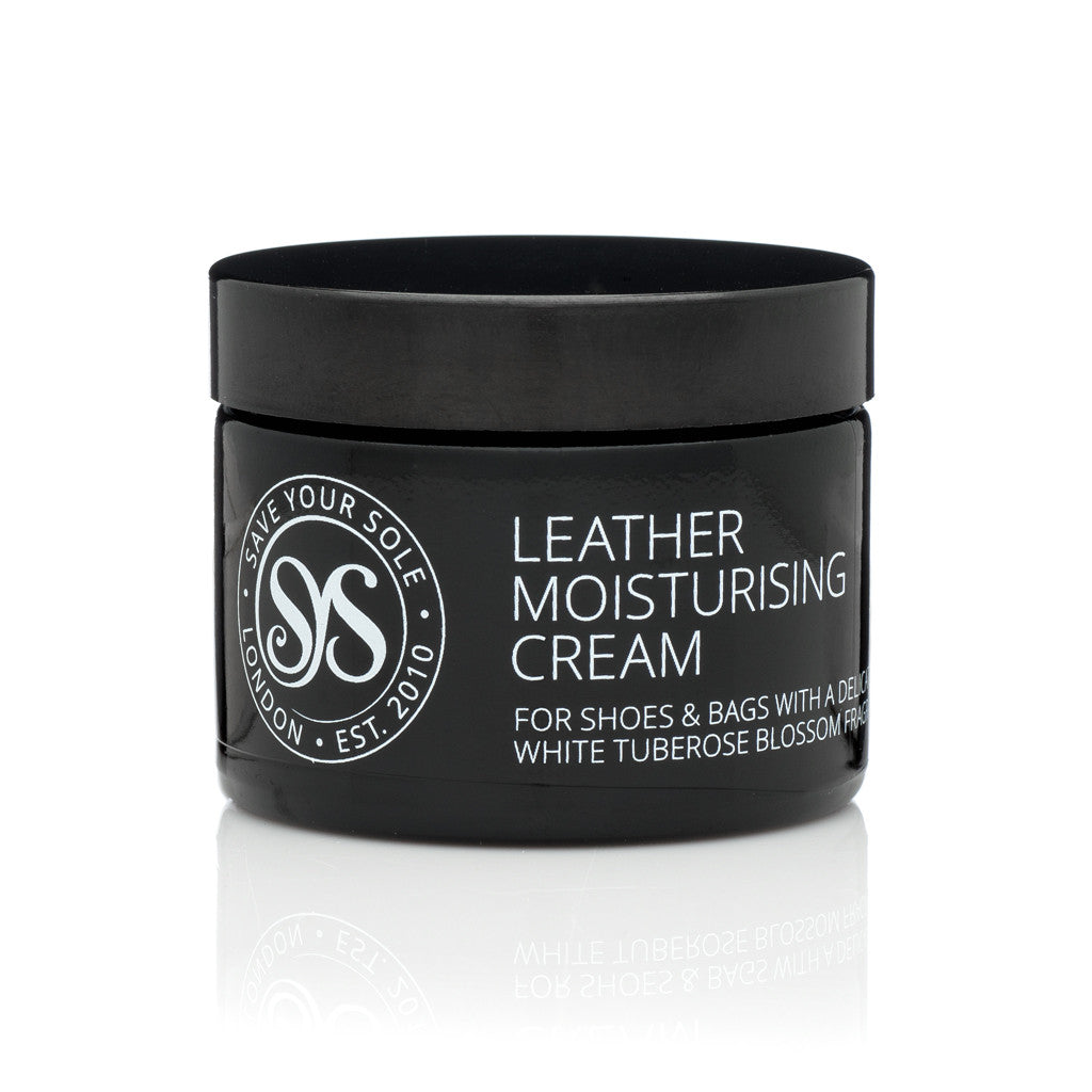 Luxury Leather Moisturising Cream in Black - Save Your Sole