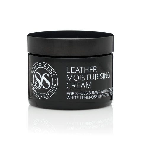 Luxury Leather Moisturising Cream in Black