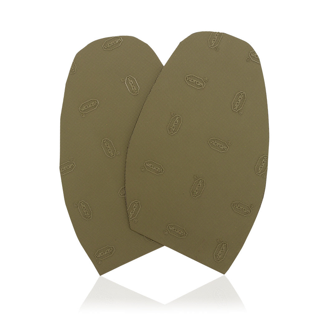 Designer Half Sole Olive - Save Your Sole