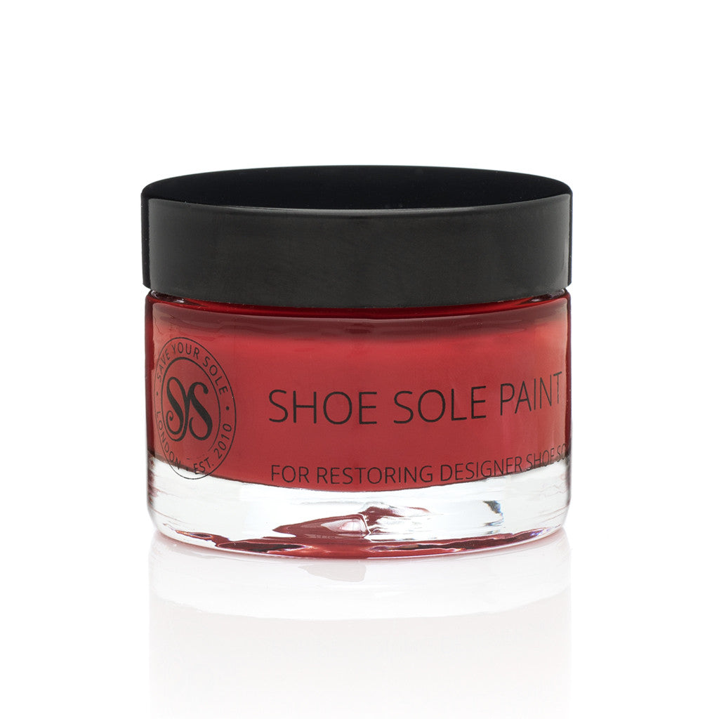 Shoe Sole Paint - Red - Save Your Sole