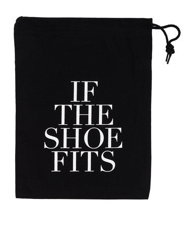 Shoe Storage & Travel Bag - If The Shoe Fits