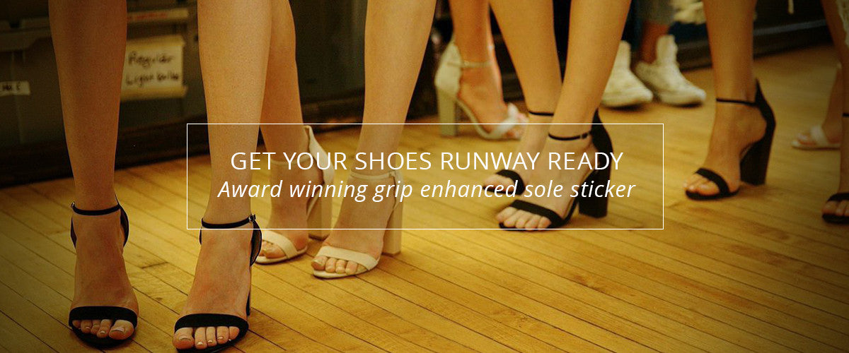 Get your shoes runway ready