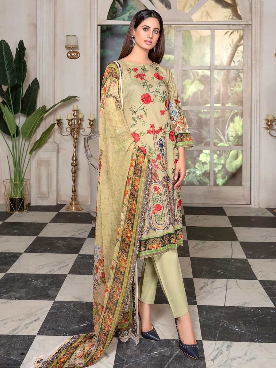 Aalaya Embroidered Lawn Vol 14 '21 D#03