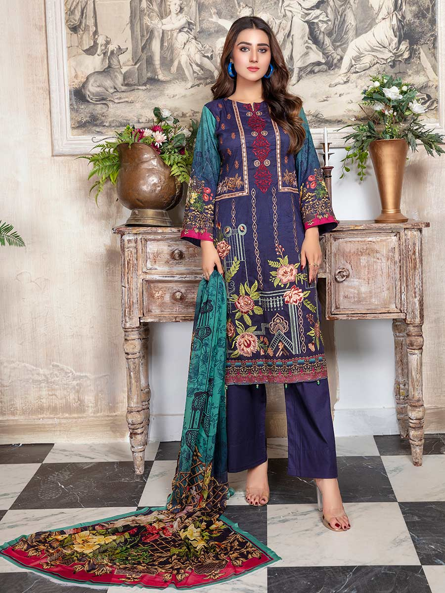 Aalaya Embroidered Lawn Vol 14 '21 D#09