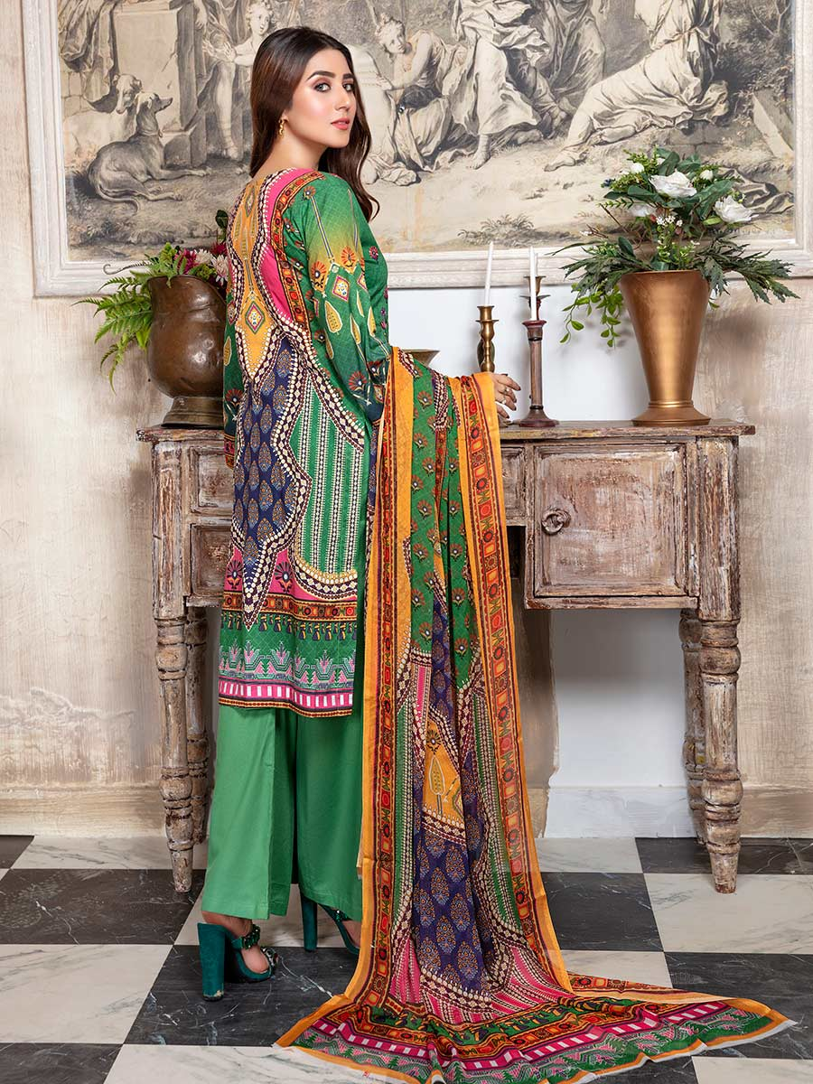 Aalaya Embroidered Lawn Vol 14 '21 D#10