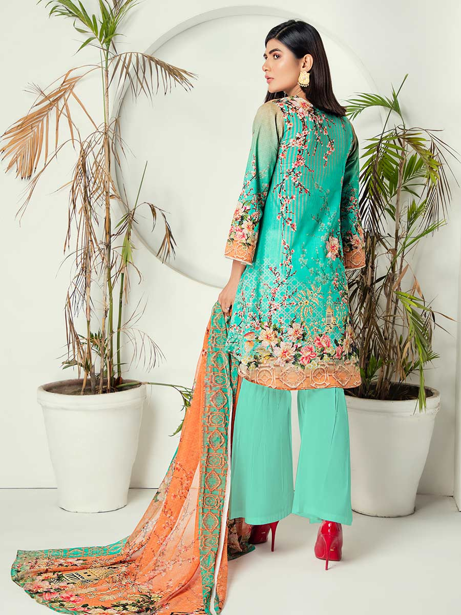 Aalaya Printed 2Pc Stitch Lawn Vol 09 '21 D#09