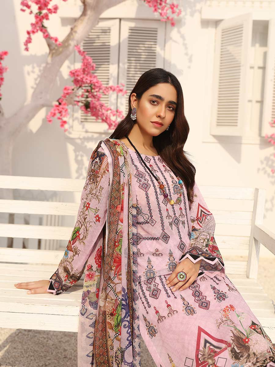 Aalaya Embroidered Swiss Lawn Vol 13 2021 D#09