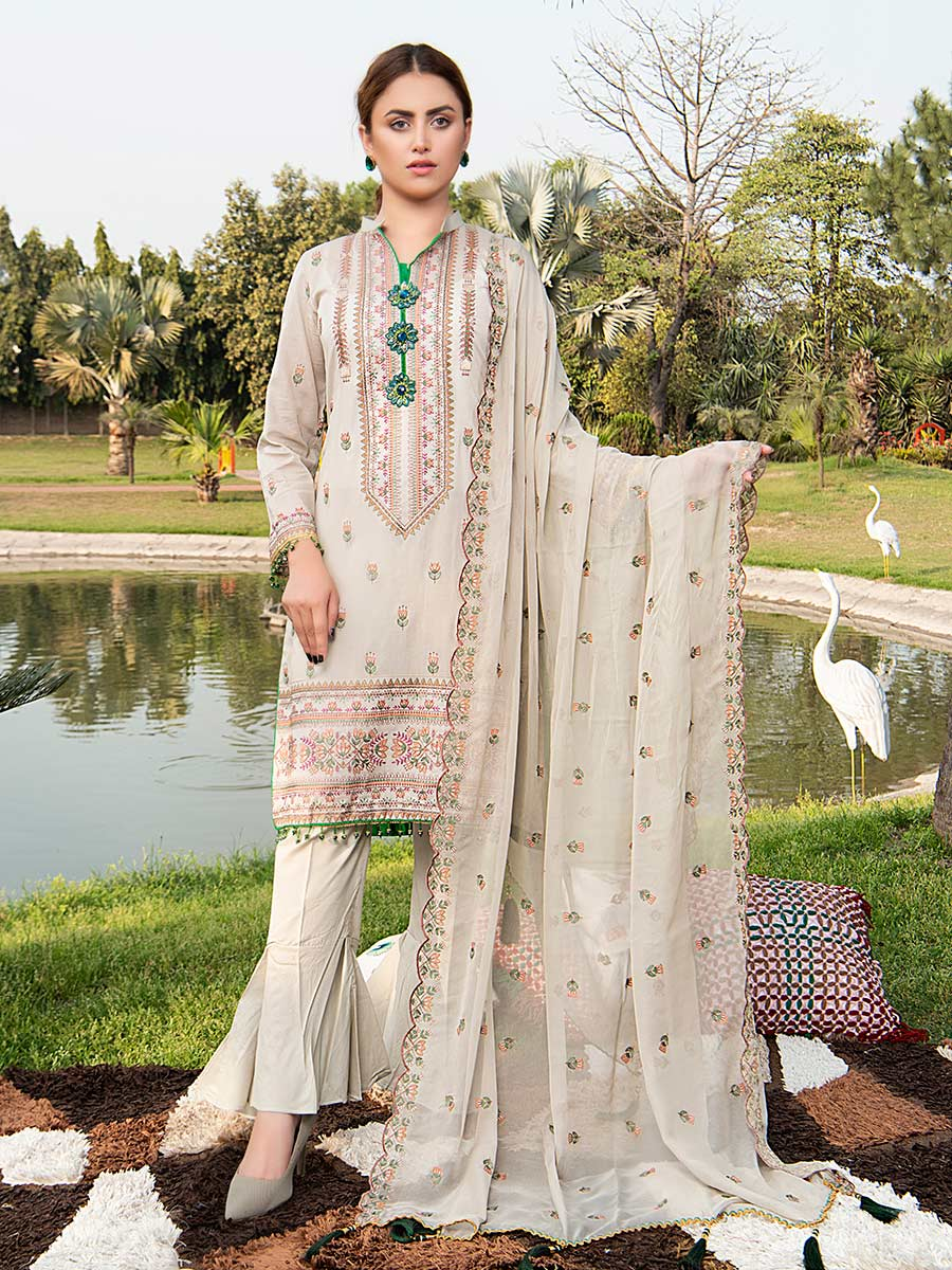 Aalaya Embroidered Swiss Lawn Vol 02 '21 D#03