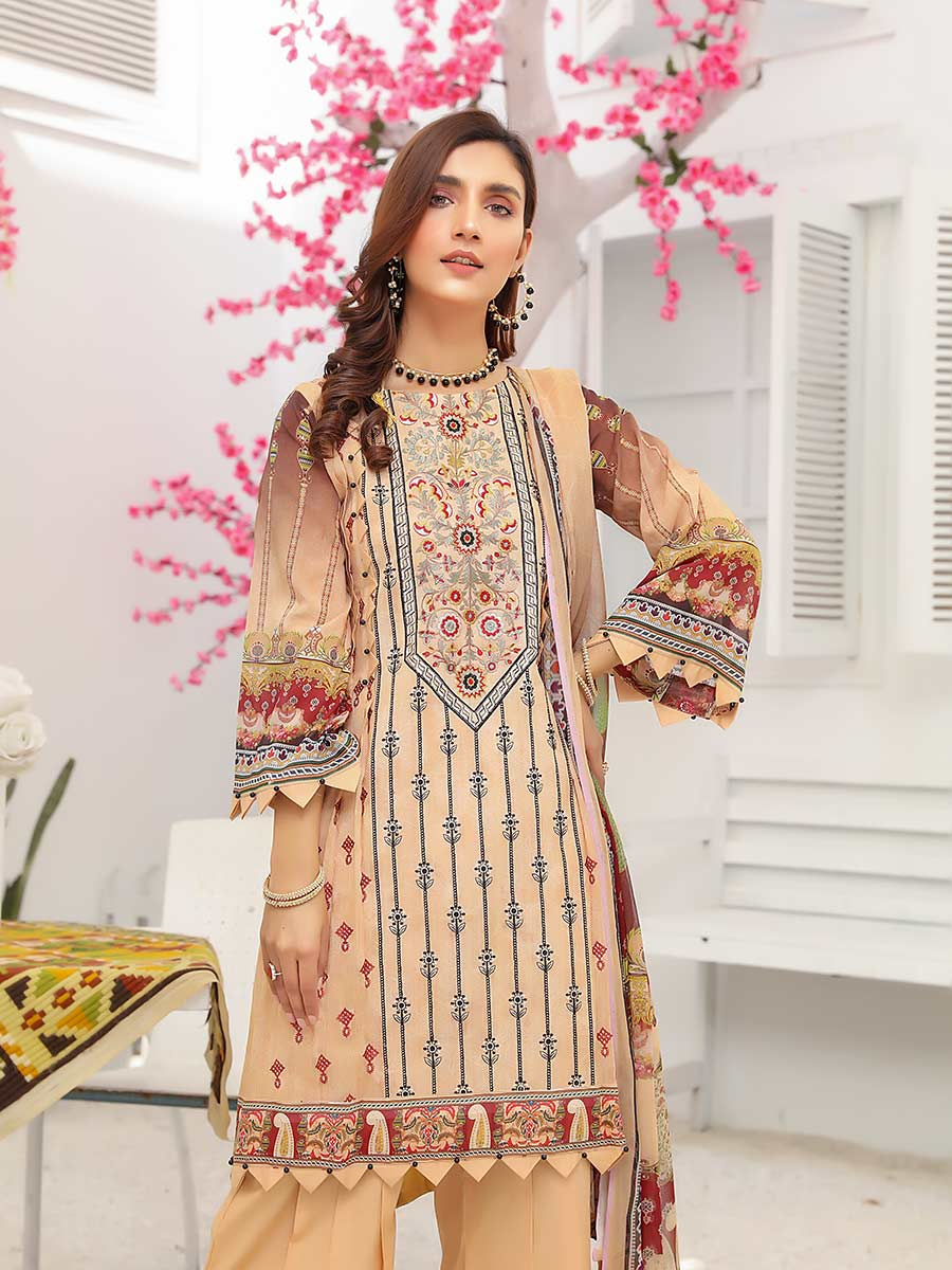 Aalaya Embroidered Swiss Lawn Vol 14 '21 D#03