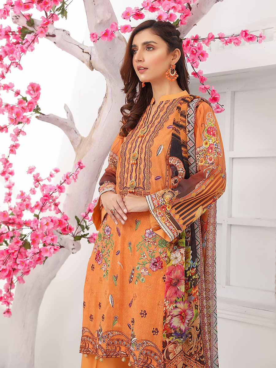 Aalaya Embroidered Swiss Lawn Vol 14 '21 D#06