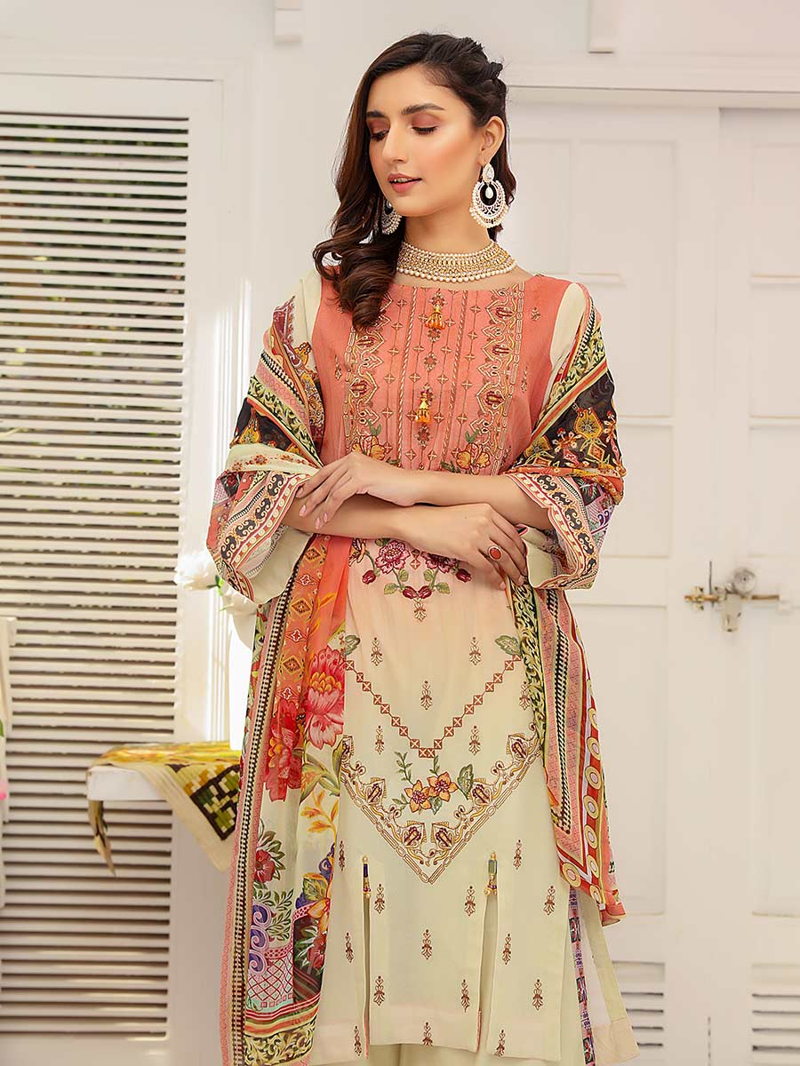 Aalaya Embroidered Swiss Lawn Vol 14 '21 D#09