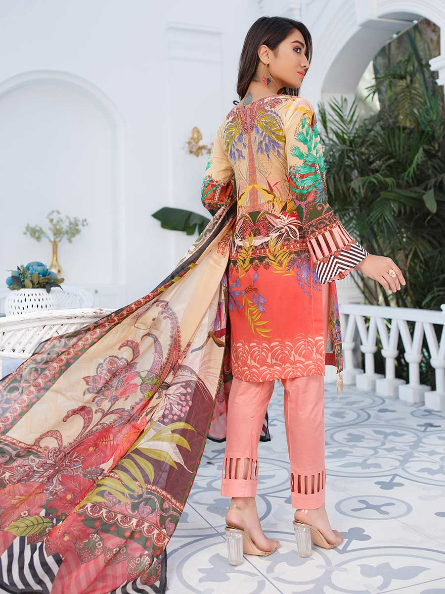 Aalaya Embroidered Swiss Lawn Vol A3 '21 D#02