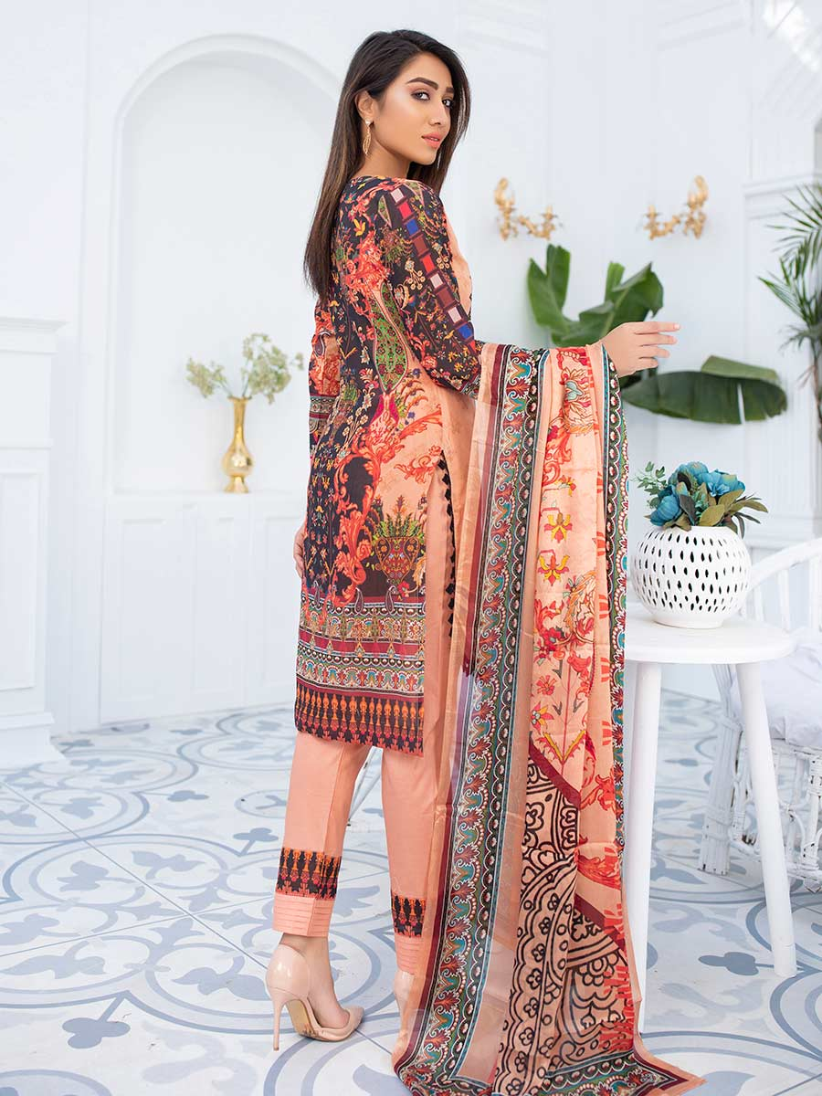 Aalaya Embroidered Swiss Lawn Vol A3 '21 D#07