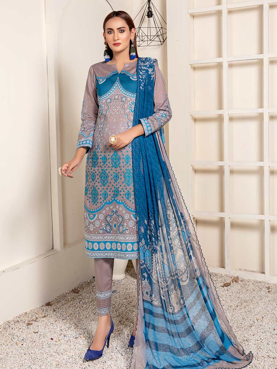 Aalaya Embroidered Collection Lawn 2021 D#06