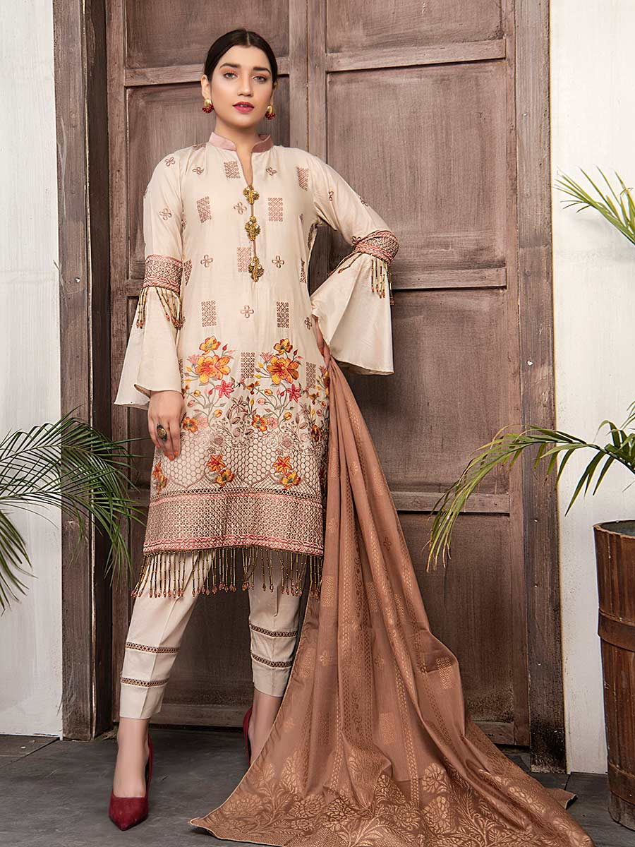 Aalaya Embroidered Lawn Vol 03 2021 D#07