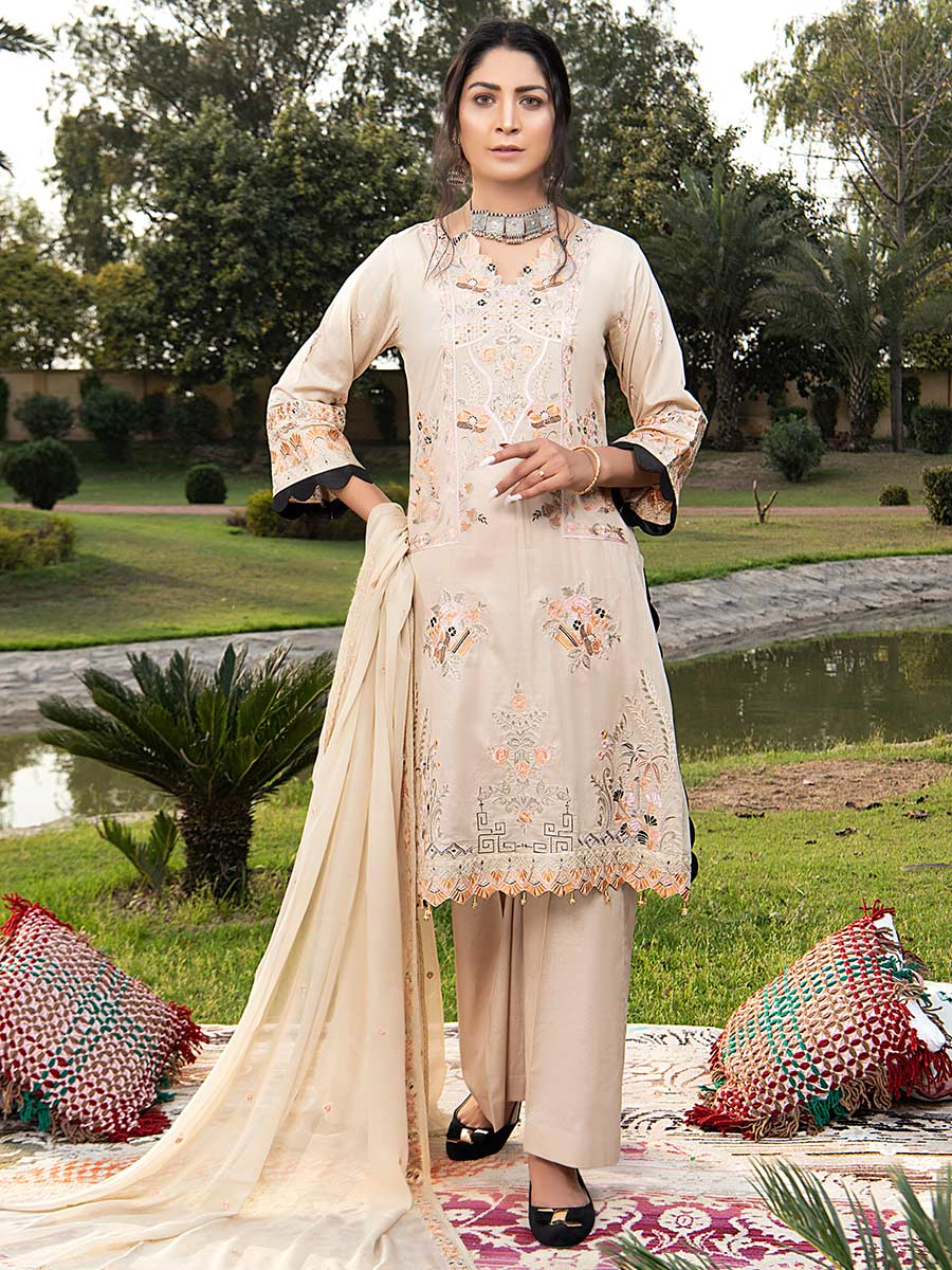 Aalaya Embroidered Lawn Vol 04 2021 D#07