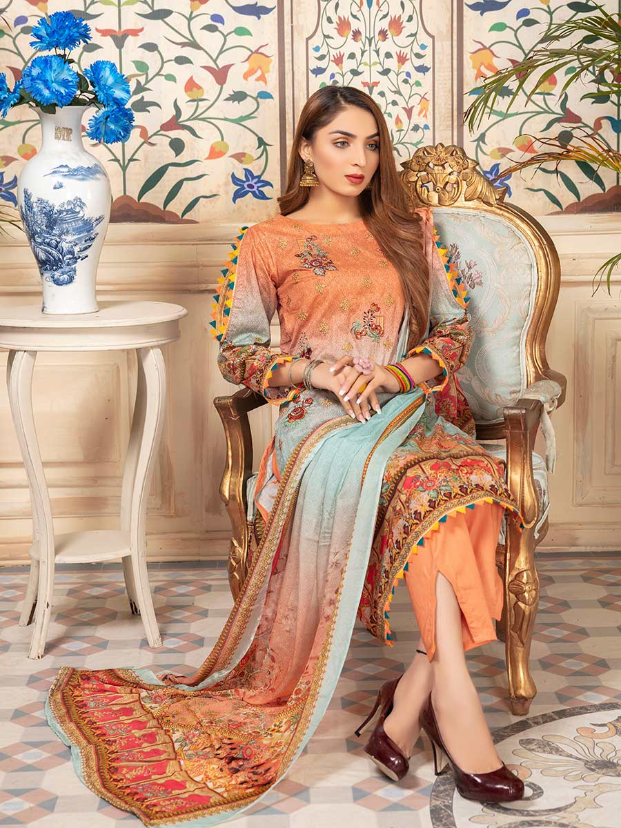 Aalaya Embroidered Lawn Vol 07 '21 D#03