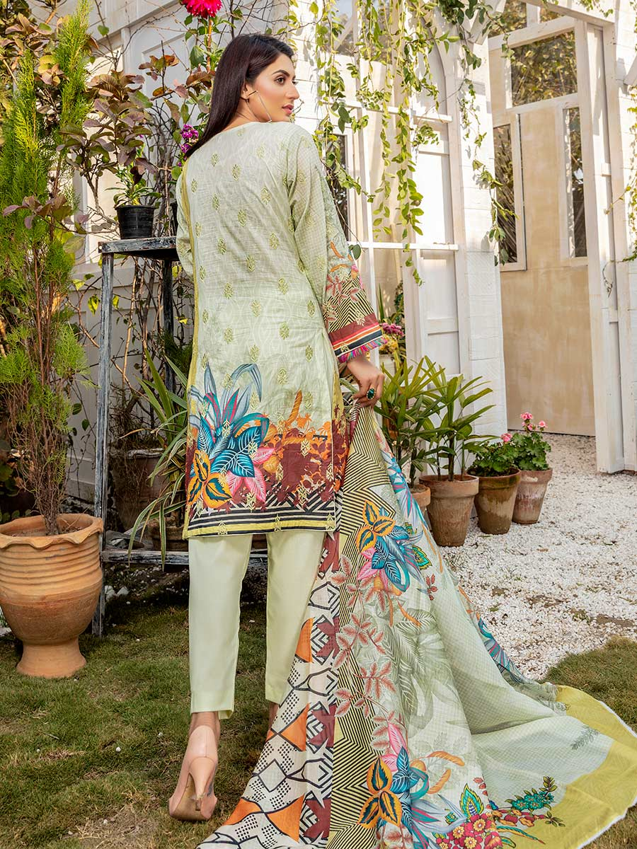 Aalaya Sequence Stitch Lawn Vol 12 '21 D#09