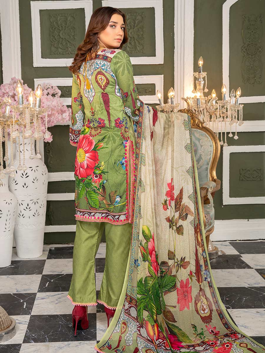 Aalaya Chicken Kari Lawn Vol 15 '21 D#02
