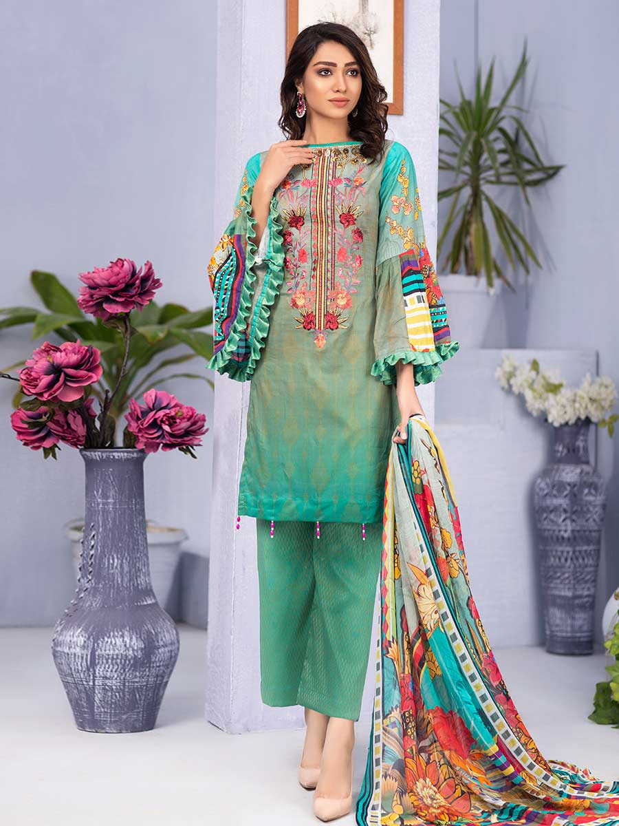 Aalaya Embroidered Lawn Vol 16 '21 D#03