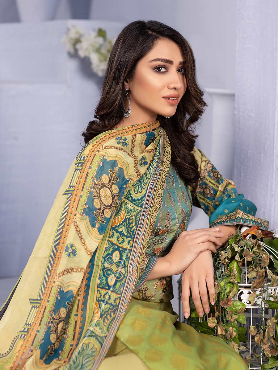 Aalaya Embroidered Lawn Vol 16 '21 D#05