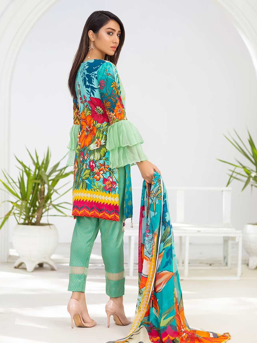 Aalaya Embroidered Lawn Vol A1 '21 D#05