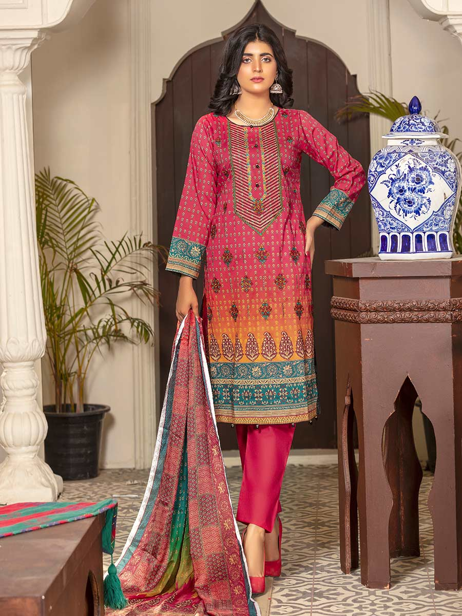 Aalaya Embroidered Lawn Vol A10 2021 D#03