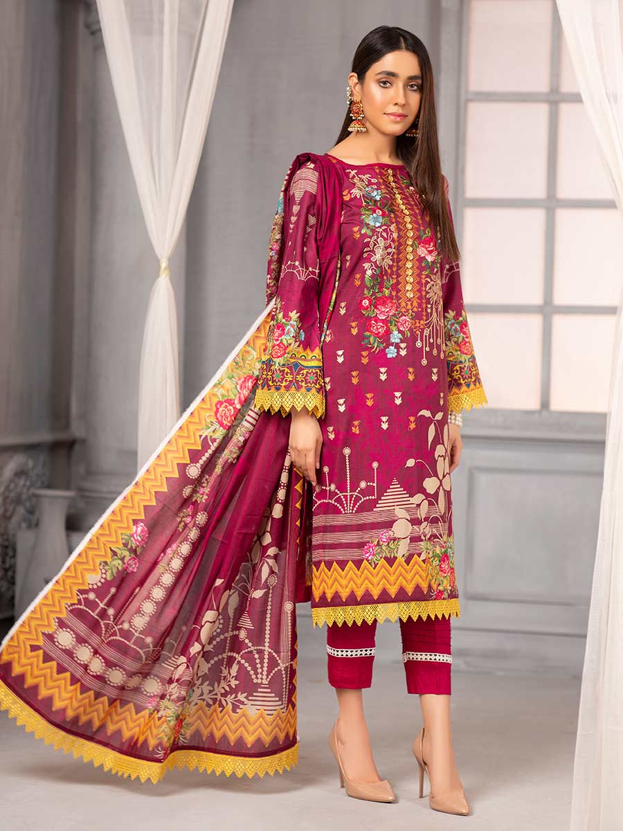 Aalaya Embroidered Lawn Vol A11 2021 D#01