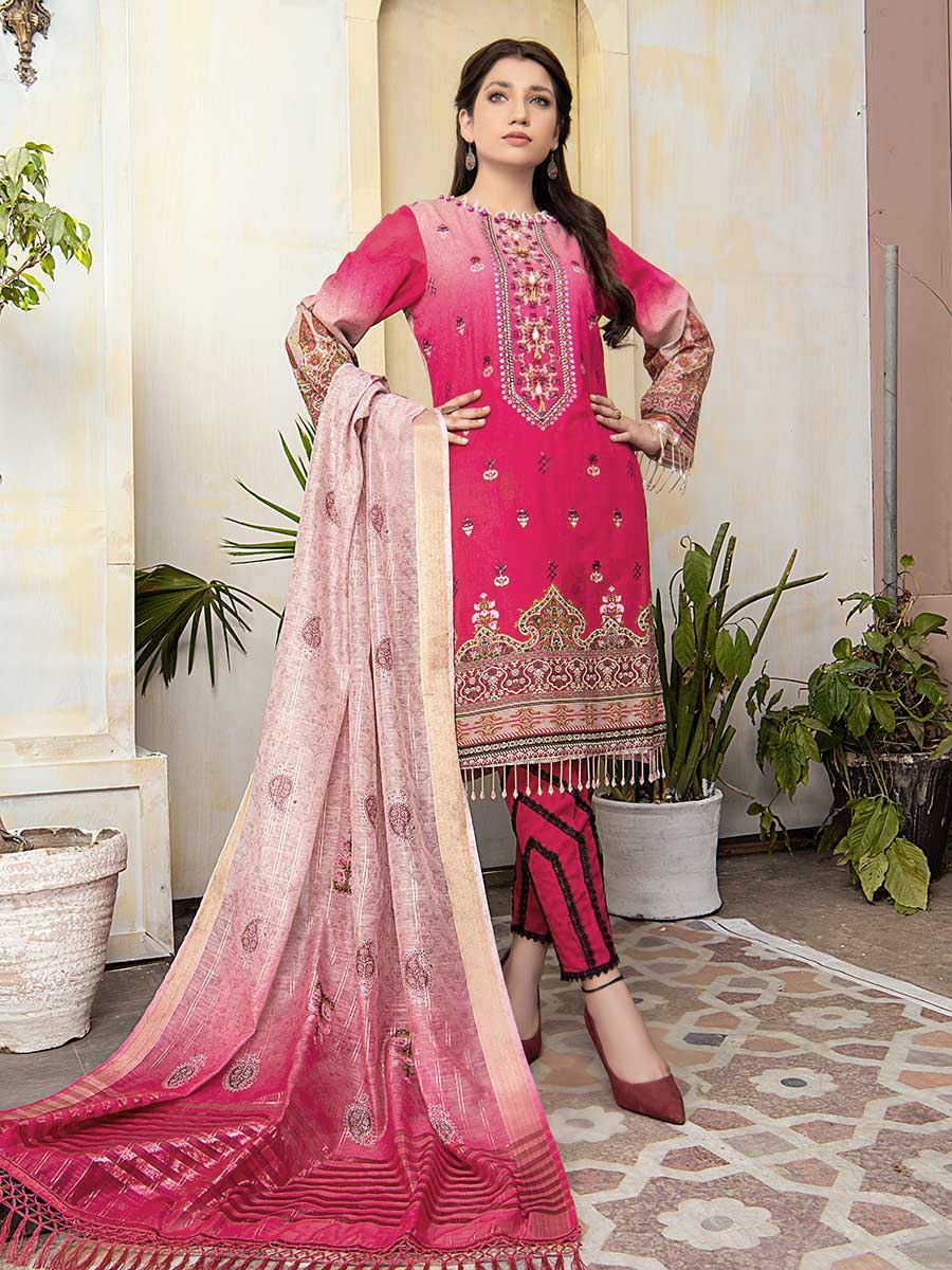 Aalaya Embroidered Lawn Vol A14 2021 D#09