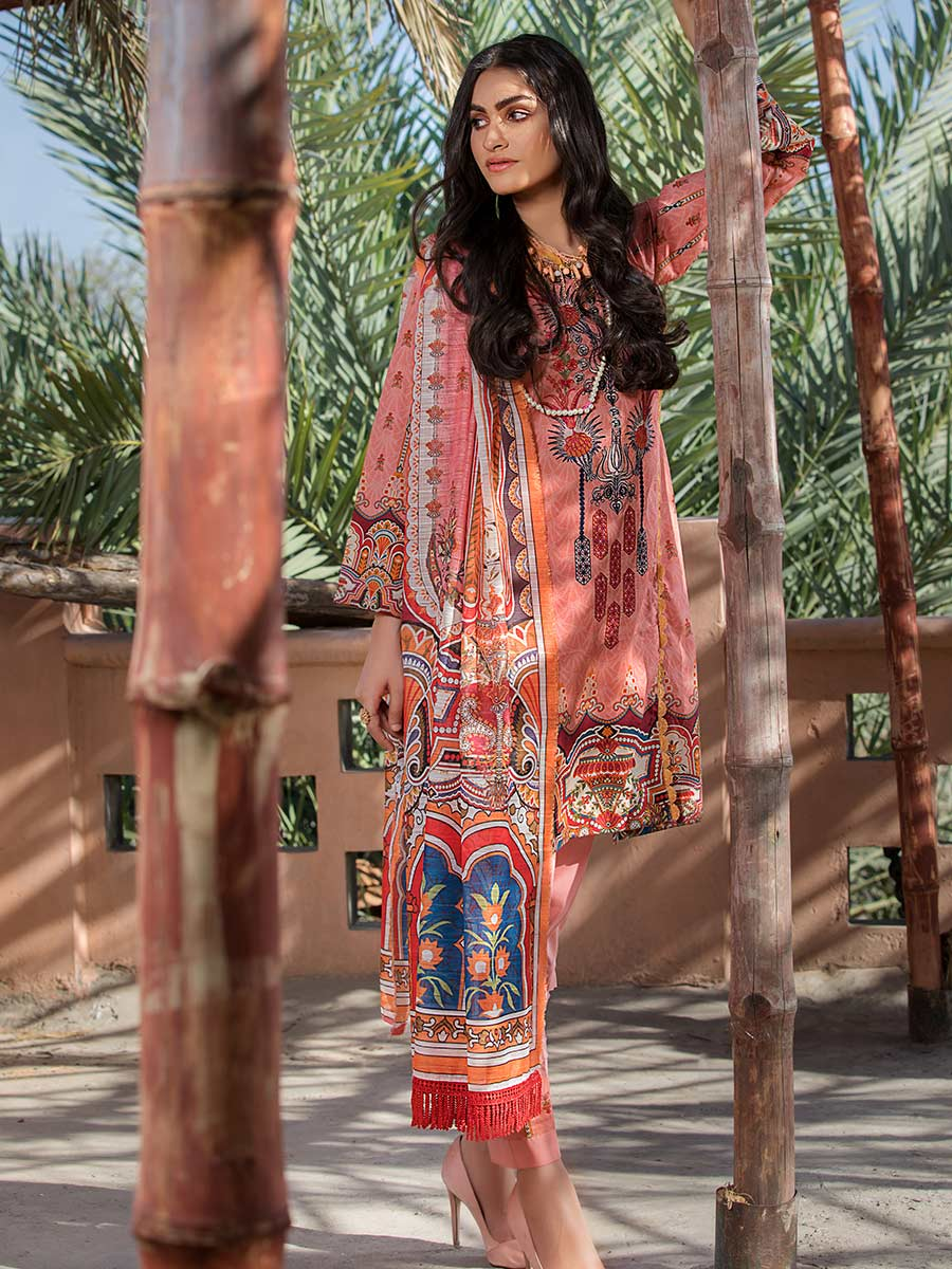 Aalaya Embroidered Lawn Vol A16 2021 D#07