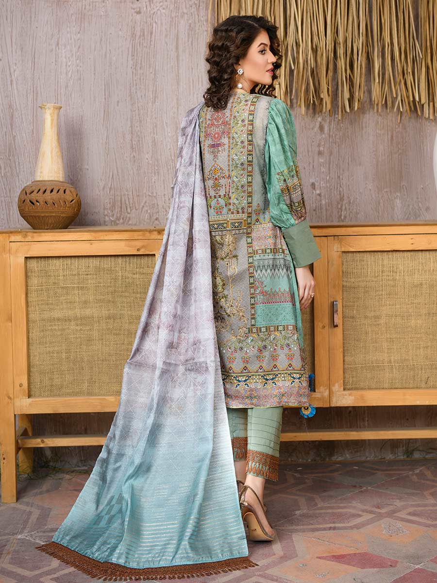 Aalaya Embroidered Lawn Vol A19 2021 D#03