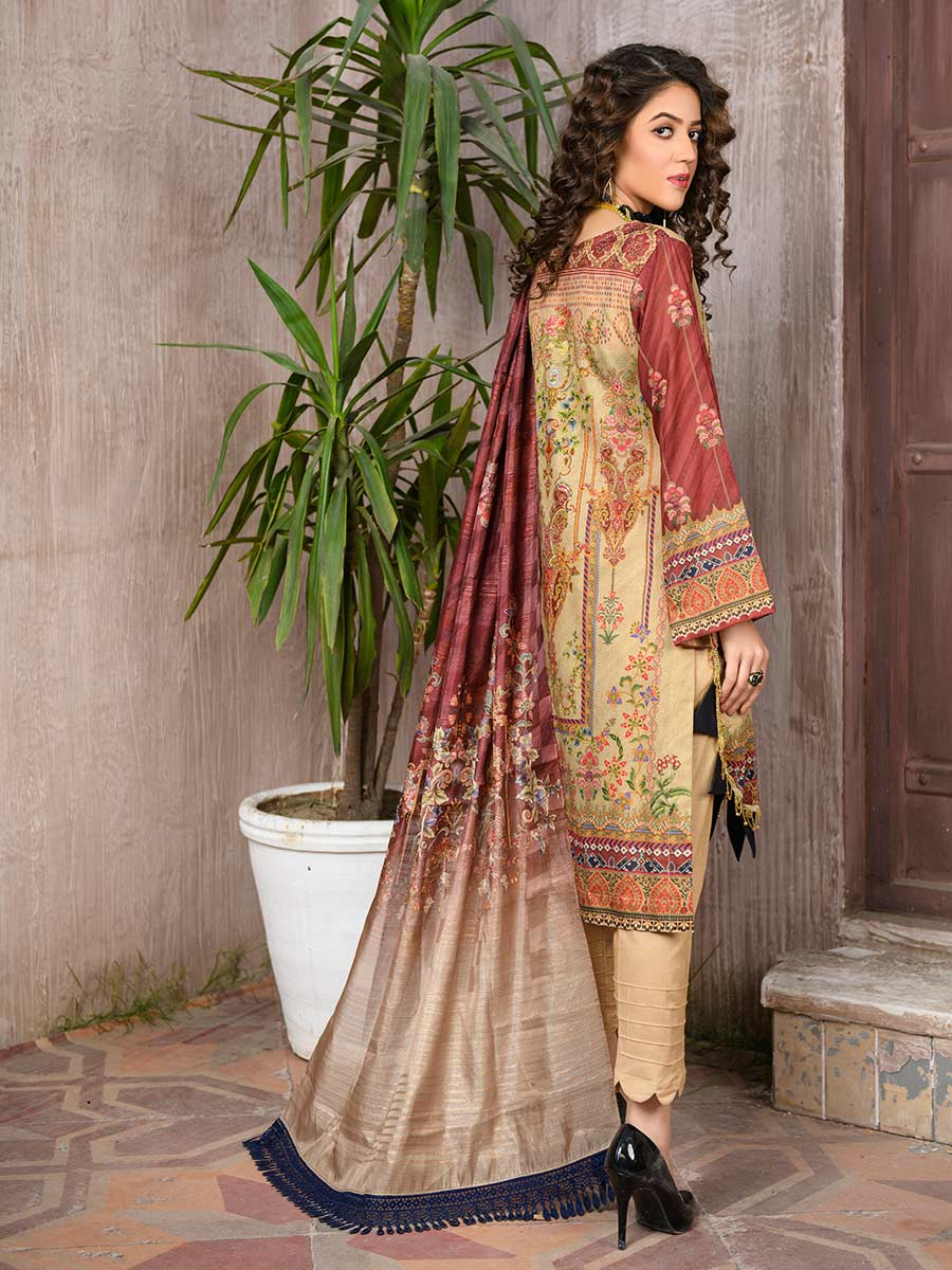 Aalaya Embroidered Lawn Vol A19 2021 D#08