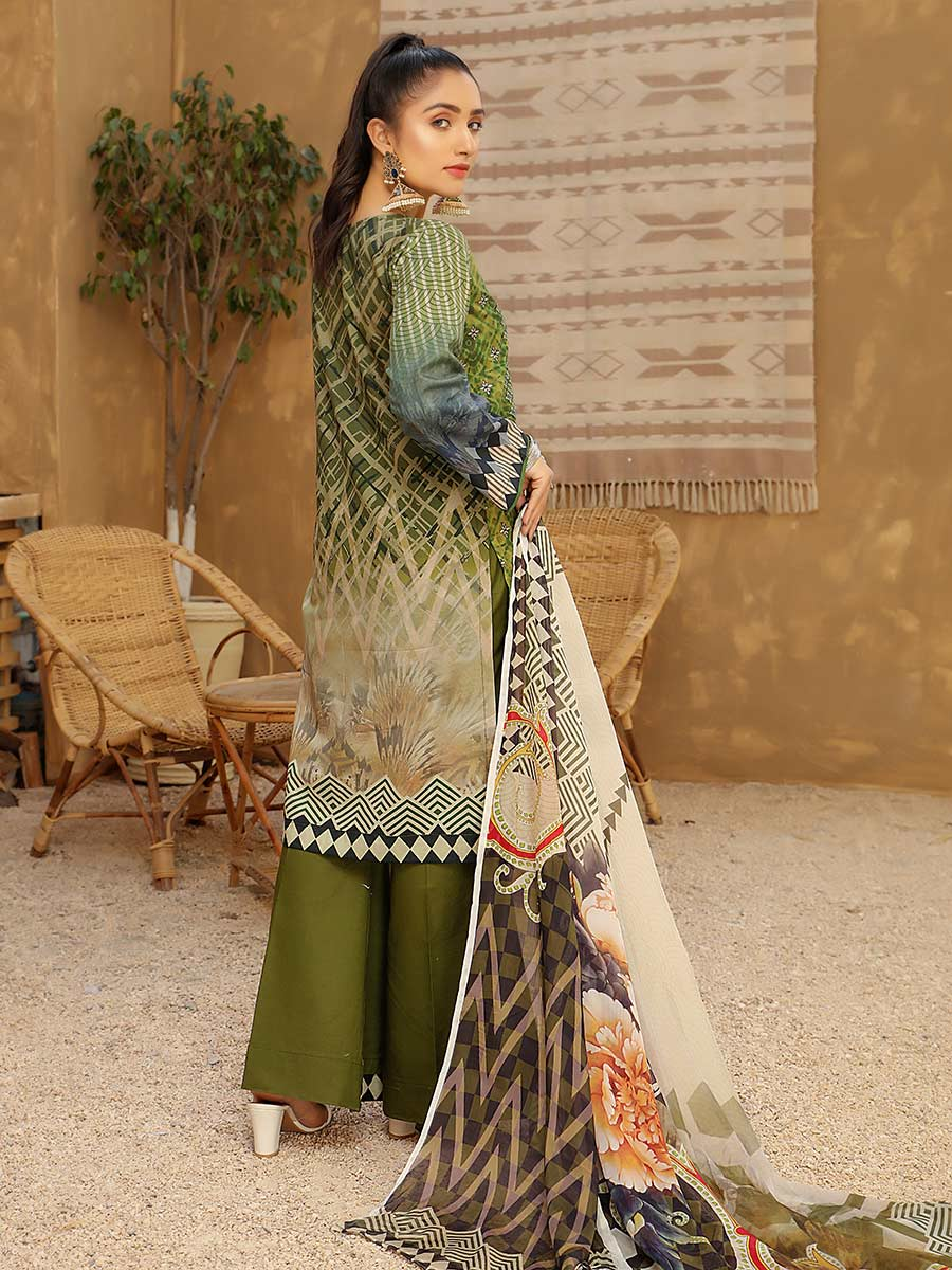 Aalaya Embroidered Lawn Vol A7 '21 D#02
